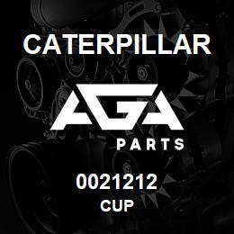 0021212 Caterpillar CUP | AGA Parts