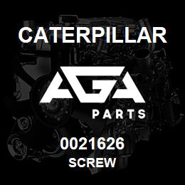 0021626 Caterpillar SCREW | AGA Parts