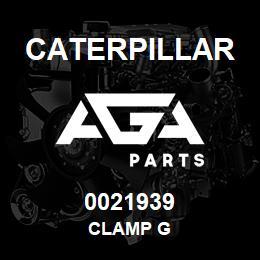0021939 Caterpillar CLAMP G   AGA Parts