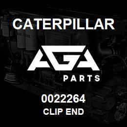 0022264 Caterpillar CLIP END | AGA Parts