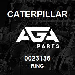 0023136 Caterpillar RING | AGA Parts