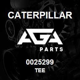 0025299 Caterpillar TEE | AGA Parts