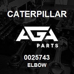 0025743 Caterpillar ELBOW | AGA Parts