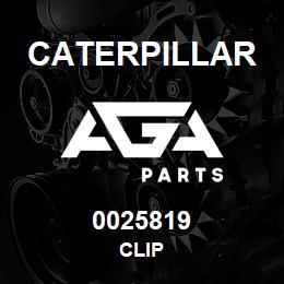 0025819 Caterpillar CLIP | AGA Parts