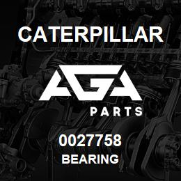 0027758 Caterpillar BEARING | AGA Parts