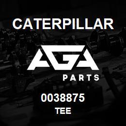 0038875 Caterpillar TEE   AGA Parts