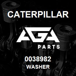 0038982 Caterpillar WASHER | AGA Parts