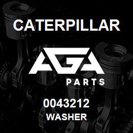 0043212 Caterpillar WASHER | AGA Parts