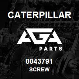 0043791 Caterpillar SCREW | AGA Parts