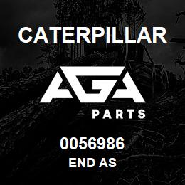 0056986 Caterpillar END AS | AGA Parts