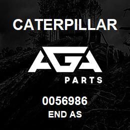 0056986 Caterpillar END AS | AGA Parts