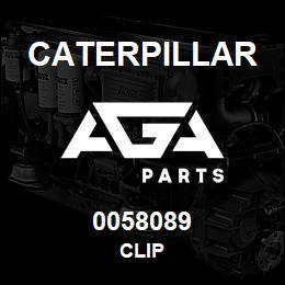0058089 Caterpillar CLIP | AGA Parts