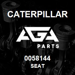 0058144 Caterpillar SEAT | AGA Parts