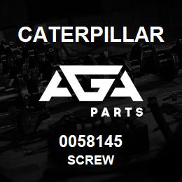0058145 Caterpillar SCREW | AGA Parts
