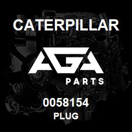 0058154 Caterpillar PLUG | AGA Parts