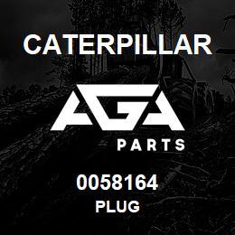 0058164 Caterpillar PLUG | AGA Parts