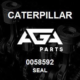 0058592 Caterpillar SEAL | AGA Parts