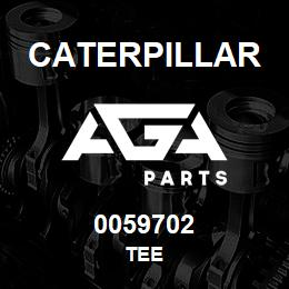 0059702 Caterpillar TEE | AGA Parts