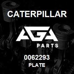 0062293 Caterpillar PLATE | AGA Parts