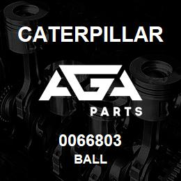 0066803 Caterpillar BALL | AGA Parts