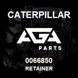 0066850 Caterpillar RETAINER | AGA Parts