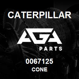0067125 Caterpillar CONE | AGA Parts