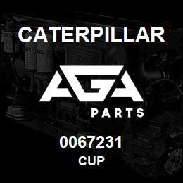 0067231 Caterpillar CUP | AGA Parts
