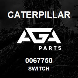 0067750 Caterpillar SWITCH | AGA Parts