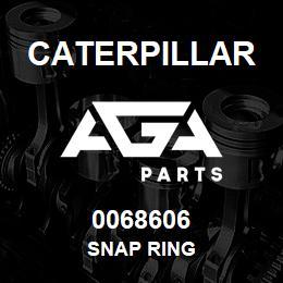 0068606 Caterpillar SNAP RING | AGA Parts