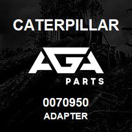 0070950 Caterpillar ADAPTER | AGA Parts