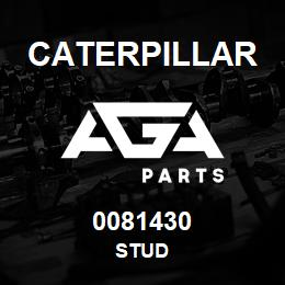 0081430 Caterpillar STUD | AGA Parts