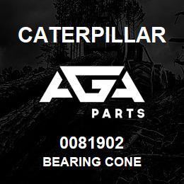 0081902 Caterpillar BEARING CONE | AGA Parts
