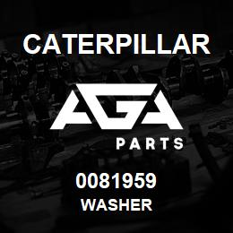 0081959 Caterpillar WASHER | AGA Parts