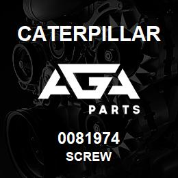 0081974 Caterpillar SCREW | AGA Parts