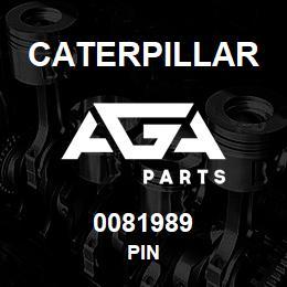 0081989 Caterpillar PIN | AGA Parts