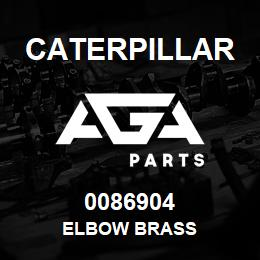 0086904 Caterpillar ELBOW BRASS | AGA Parts