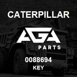 0088694 Caterpillar KEY | AGA Parts