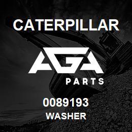 0089193 Caterpillar WASHER | AGA Parts