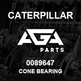 0089647 Caterpillar CONE BEARING | AGA Parts