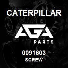 0091603 Caterpillar SCREW | AGA Parts