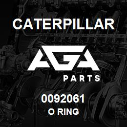 0092061 Caterpillar O RING | AGA Parts