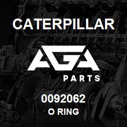 0092062 Caterpillar O RING | AGA Parts