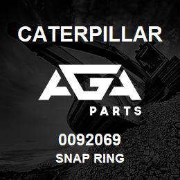 0092069 Caterpillar SNAP RING | AGA Parts