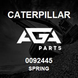 0092445 Caterpillar SPRING | AGA Parts