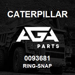 0093681 Caterpillar RING-SNAP | AGA Parts