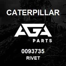 0093735 Caterpillar RIVET | AGA Parts
