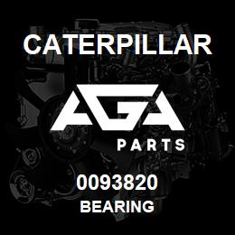 0093820 Caterpillar BEARING | AGA Parts