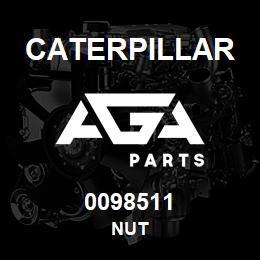 0098511 Caterpillar NUT | AGA Parts