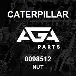 0098512 Caterpillar NUT | AGA Parts