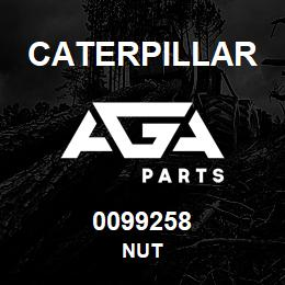 0099258 Caterpillar NUT | AGA Parts